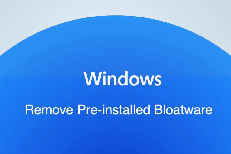 如何从 Windows 11 中删除预安装的应用程序?
