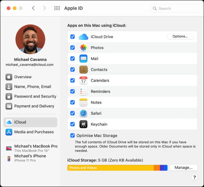 我可以使用 iCloud Drive 进行 Time Machine 备份吗?