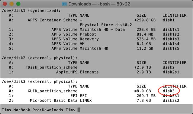 如何在 Mac 上创建可启动的 Linux Live USB