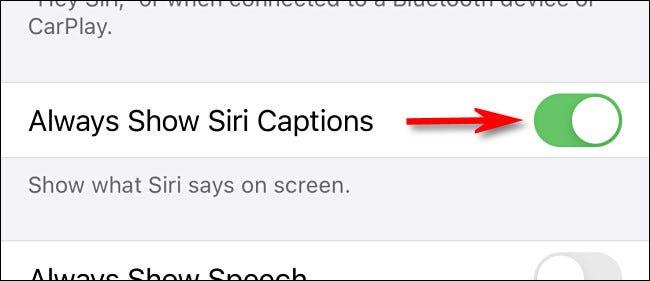 如何在 iPhone 和 iPad 上打开 Siri 字幕