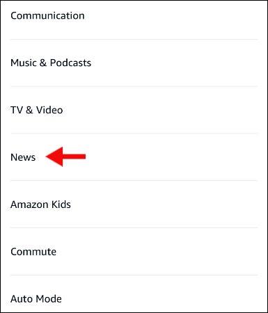 如何设置定制的 Alexa News Flash 简报