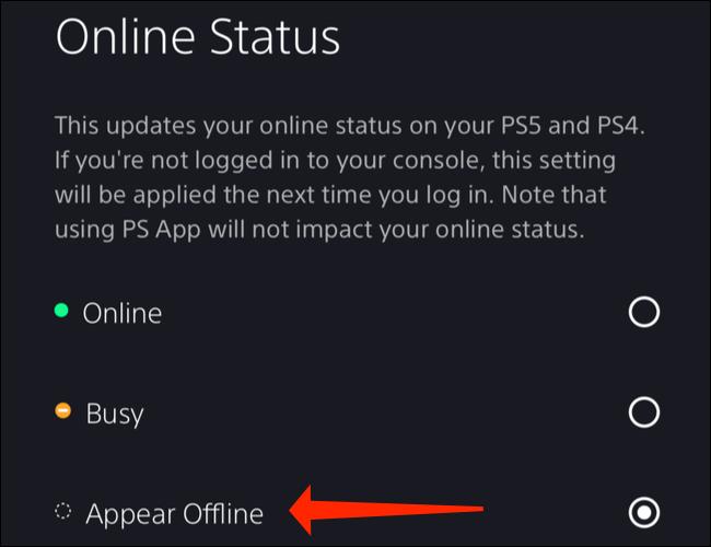 如何在 PS5 上离线显示