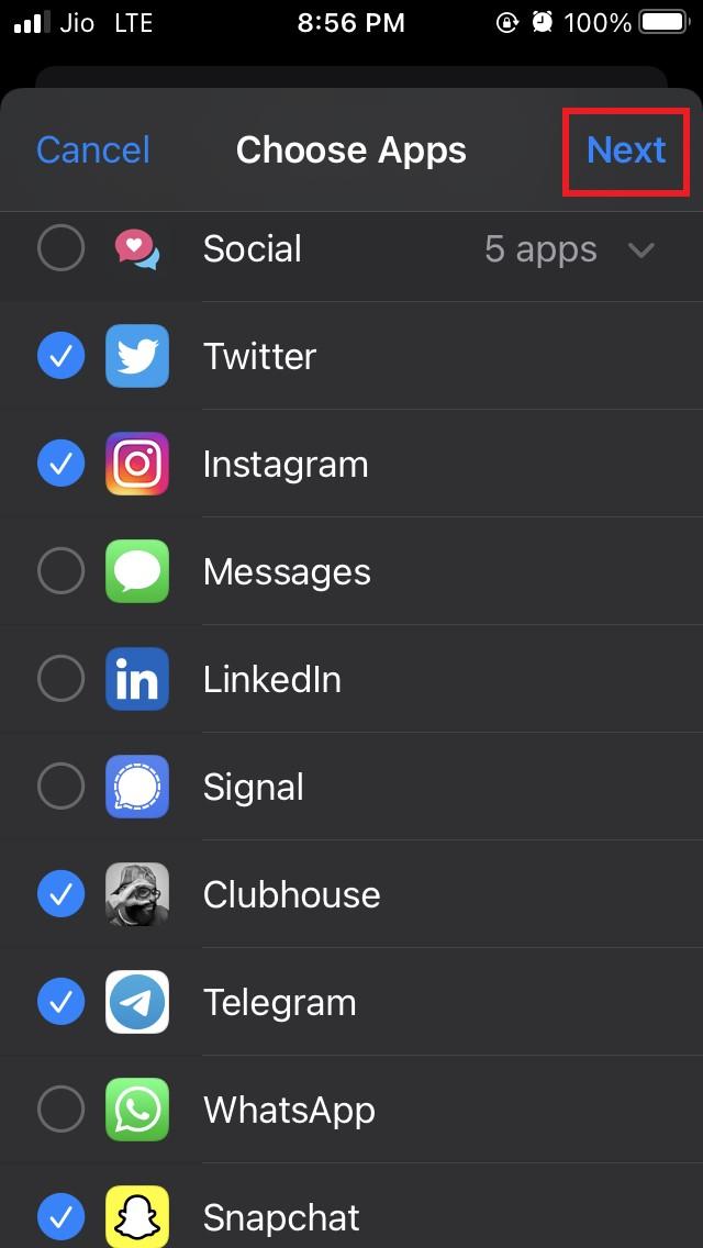 如何设置在 iPhone 上使用应用程序的时间限制?