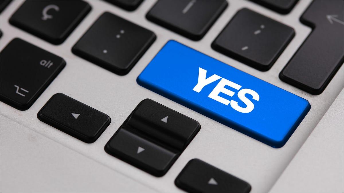 """如何在 Mac 上使用""""是""""命令"""