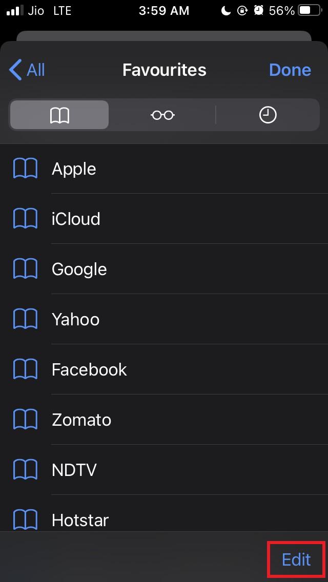 如何在 iPhone 和 iPad 的 Safari 中创建自定义收藏夹文件夹?