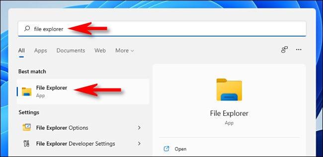 如何在 Windows 11 上打开文件资源管理器