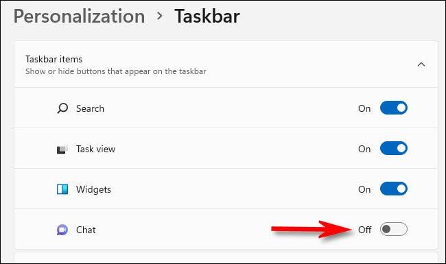 """如何删除 Windows 11 上的""""聊天""""任务栏图标"""