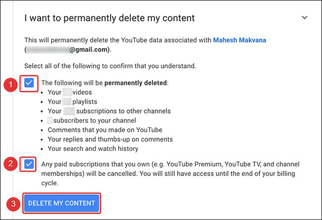 如何删除您的 YouTube 频道