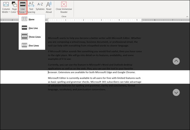 如何在 Microsoft Word、Outlook 和 OneNote 中使用沉浸式阅读器