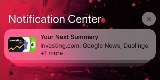如何在 iPhone 和 iPad 上设置通知摘要