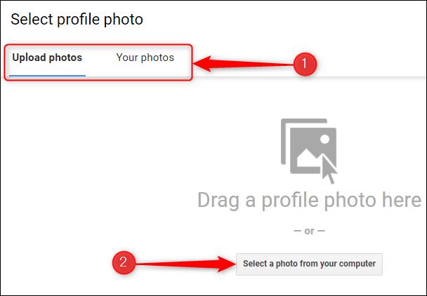 如何更改您的 Google 个人资料图片