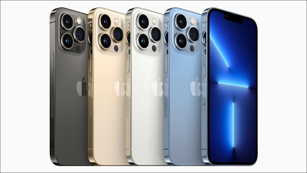 iPhone 13 Pro 的显示会根据您的使用方式进行调整