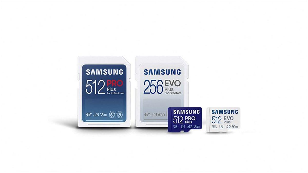 三星的新型 SD 卡提供高达 120MB/s 的写入速度
