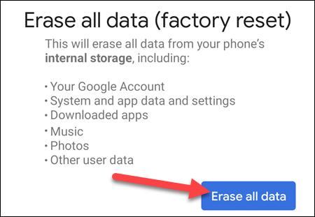 如何擦除您的 Android 设备并将其恢复为出厂设置