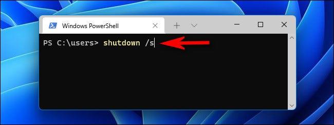 如何关闭 Windows 11 PC